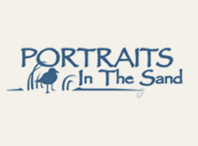 portaits in the sand